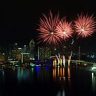 Fireworks by the Bay by toffeespin