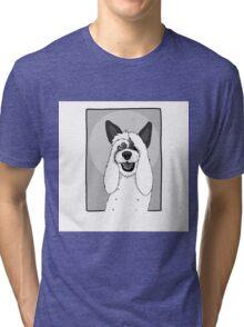 Funny Dog Tri-blend T-Shirt