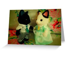 Sylvanian Families ~ Shall We Dance? Greeting Card