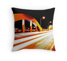 Bridge Traffic Throw Pillow