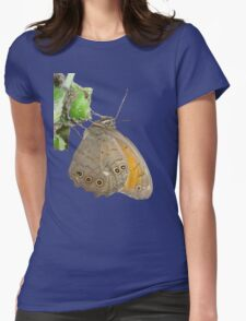 Meadow Brown Butterfly Feeding On Aphids T-Shirt