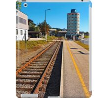 Rails into the countryside | transportation photography iPad Case/Skin