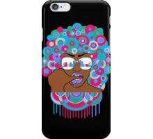 Afro in LA  iPhone Case/Skin