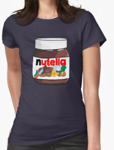 Love Nut Womens Fitted T-Shirt