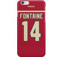 Minnesota Wild Justin Fontaine Jersey Back Phone Case iPhone Case/Skin