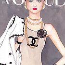 Vogue Paris March 2009 Cover by D.U.R.A .
