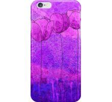 Purple Flowers II iPhone Case/Skin