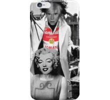 Warhol scissorhands iPhone Case/Skin