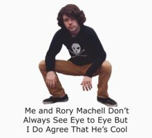 Me and Rory Machell Don't Always See Eye to Eye but I can Admit That He's Cool Kids Clothes