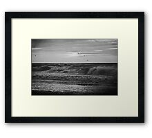Find Light In The Beautiful Sea (mono) Framed Print