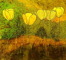 Yellow Flowers II by jripleyfagence