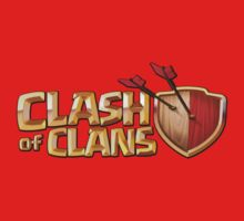 Clash of Clans Logo Art by SXArtist