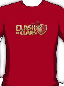 Clash of Clans Logo Art T-Shirt