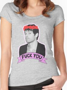 F*** you Misha Collins - 02 Women's Fitted Scoop T-Shirt
