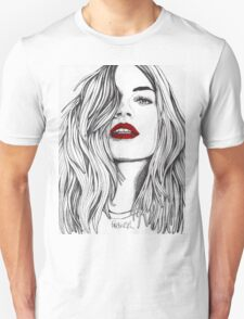 Girl with the Red Lips T-Shirt