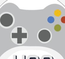 Head of Gaming Logo Sticker