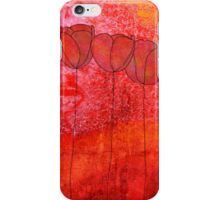 Red Flowers II iPhone Case/Skin