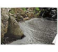 Ingalla Falls Pool - Normanville - South Austalia Poster
