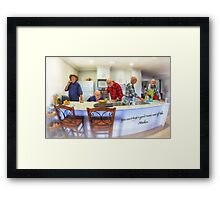 You can't keep a good man out of the Kitchen Framed Print