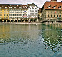 Luzern Lake by Hughsey
