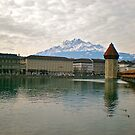 Luzern Water Mill by Hughsey