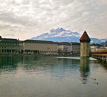 Luzern Water Mill by Hughsey