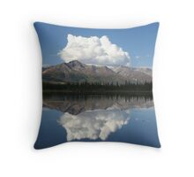A perfect reflection Throw Pillow