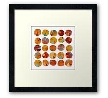 Pies Are Squared Framed Print