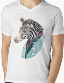 Zebra Blue T-Shirt