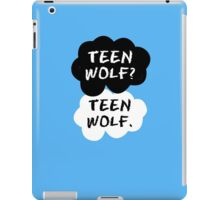 Teen Wolf - TFIOS  iPad Case/Skin