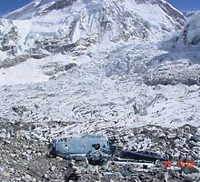 Down Helo Everest Base Camp by Paul Baker