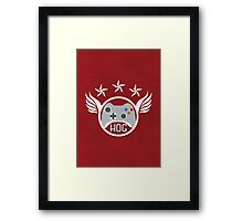 Head Of Gaming Poster Framed Print