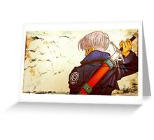 POSTER - Trunks  Greeting Card