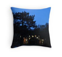 moonlit dawn Throw Pillow