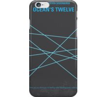 No057 My Oceans 12 minimal movie poster iPhone Case/Skin