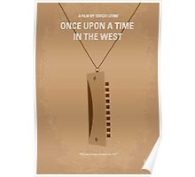 No059 My once upon a time in the west minimal movie poster Poster