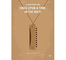 No059 My once upon a time in the west minimal movie poster Photographic Print