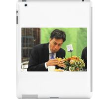 ed miliband eating a sandwich iPad Case/Skin