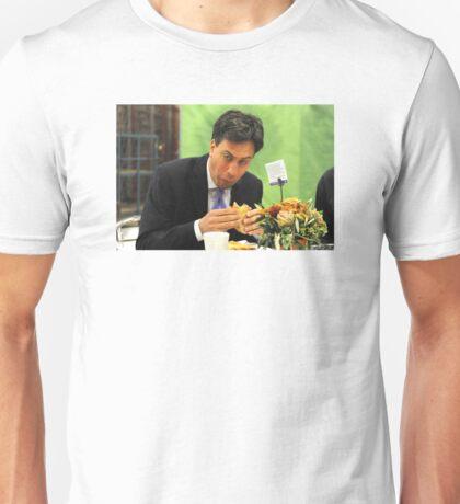 ed miliband eating a sandwich Unisex T-Shirt
