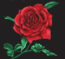 Rose Mother's Day Card by Brinjen