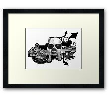 BRITISH BULL DOG Framed Print