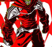 Ninja Slayer Yeeart! Red Kanji Sticker