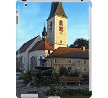 The village church of Zwettl a.d. Rodl 2 | architectural photography iPad Case/Skin
