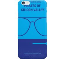 No064 My Pirates of Silicon Valley minimal movie poster iPhone Case/Skin