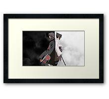 POSTER - Itachi & Sasuke Uchiha Framed Print