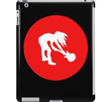 Smashing guitar - RED sign iPad Case/Skin