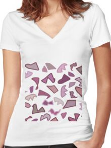Life full of choices 4 Women's Fitted V-Neck T-Shirt