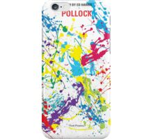 No065 My Pollock minimal movie poster iPhone Case/Skin