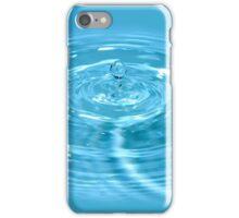 Drop of fresh water iPhone Case/Skin