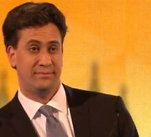 ed miliband giving you the eyes by pallasades